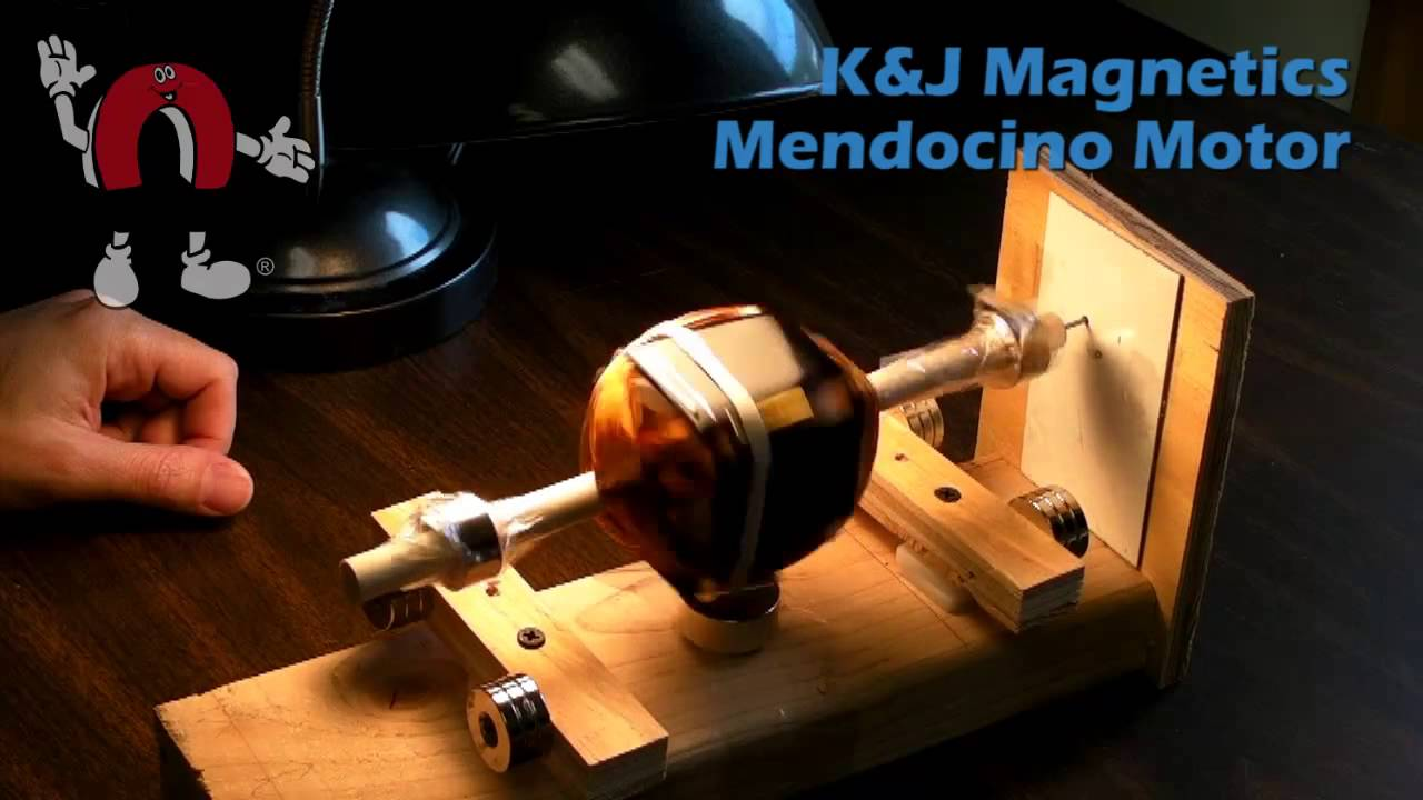 k j magnetics mendocino motor demonstration 2 youtube
