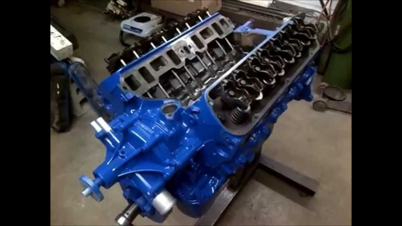 Paint An Engine Like A Pro Vid 7 Of 8 How To 302 5 0 Budget Rebuild Youtube