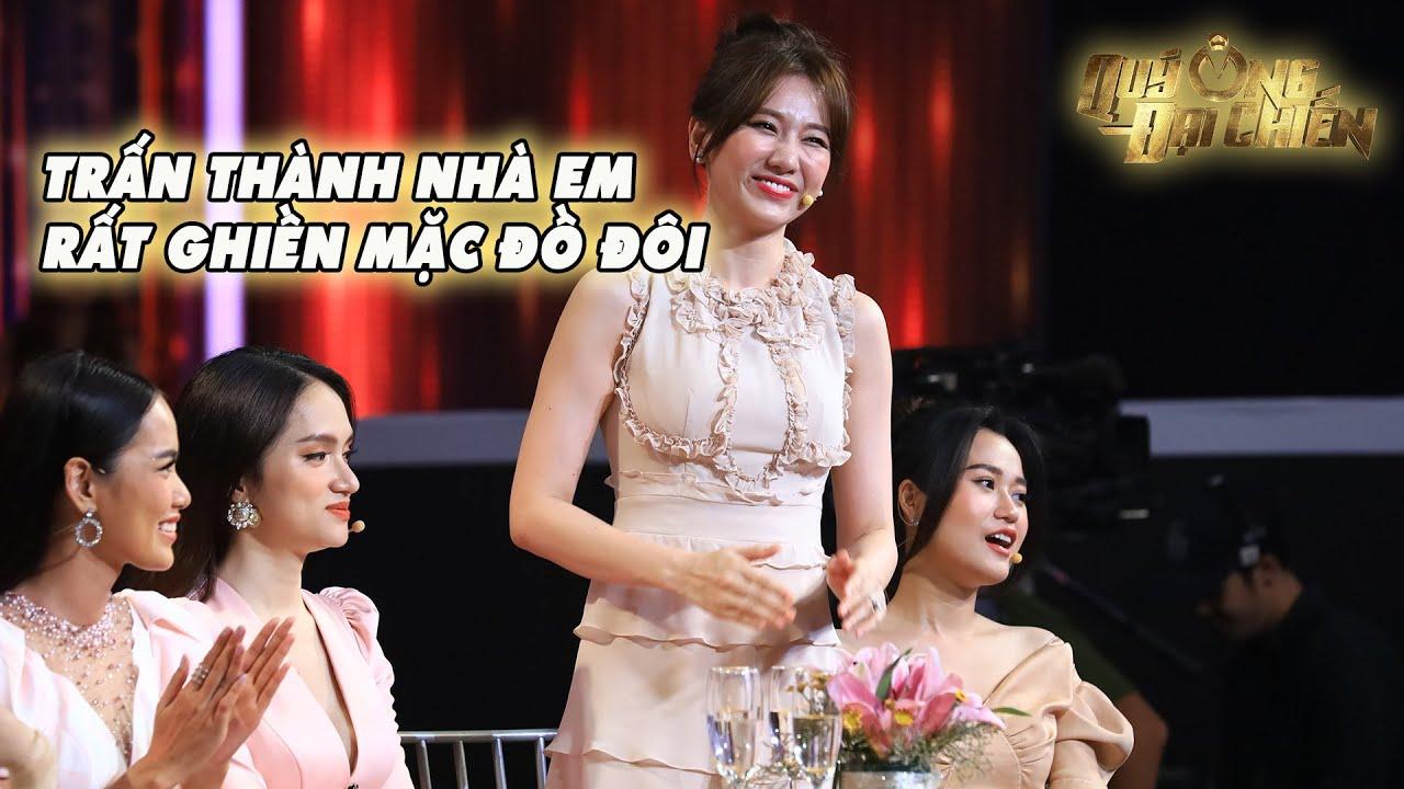 Hari Won tiết lộ Trấn Thành thích mặc đồ đôi, Hương Giang không ngại đàn ông mặc áo hồng
