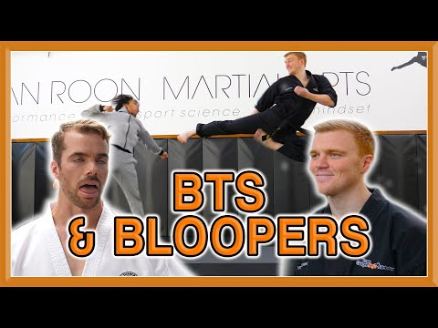 Ginger Ninja Trickster Vs World Champion | Fight BTS & Bloopers