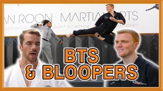 Ginger Ninja Trickster Vs World Champion | Fight BTS & Bloopers