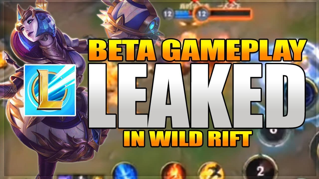 League Of Legends Wild Rift Beta Registration