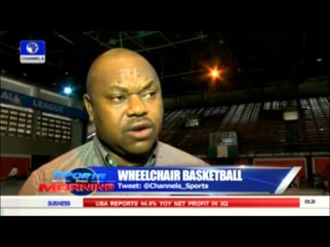 Sport This Morning: Wheelchair Basketball Championship Ends In Lagos 19/10/15