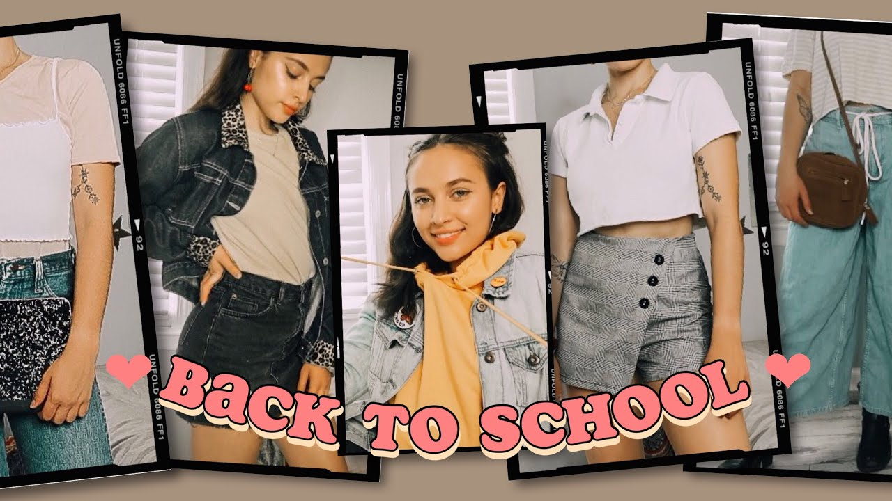 [VIDEO] - BACK TO SCHOOL OUTFIT IDEAS 8