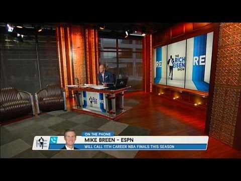 ESPN NBA Play by Play Announcer Mike Breen Talks NBA Playoffs - 4/20/16