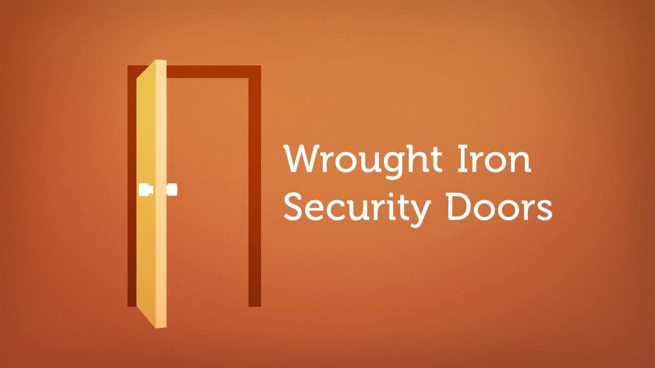 Pinky's Wrought Iron Security Doors