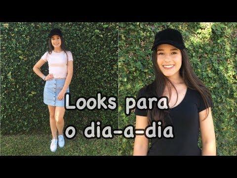LOOKS PARA O DIA-A-DIA