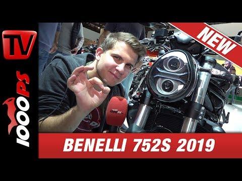 Benelli 752S 2019 - 77 PS und mächtiger Auftritt!