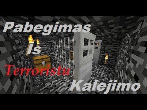 Minecraft Pabegimas is Terroristu Kalejimo ! Kasimo mapas :D