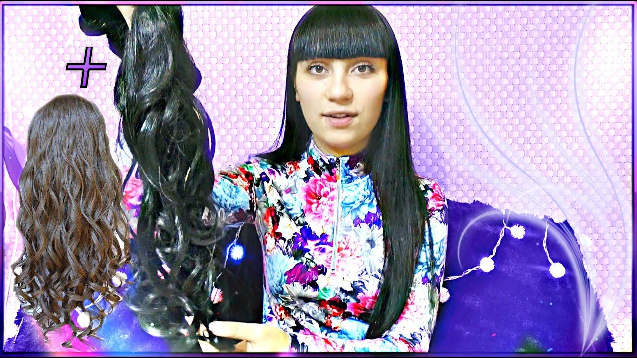 Волосы на заколках Киев. Волосы на заколках купить натуральные 50 .