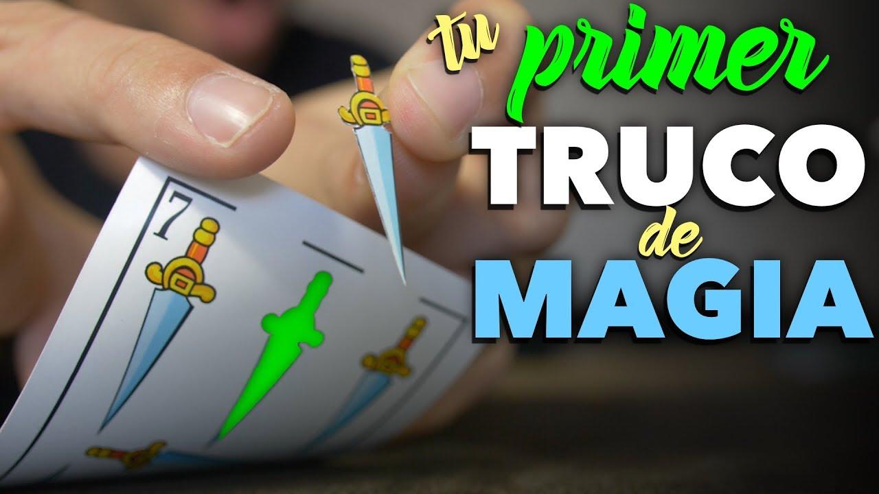 El Primer Truco De Magia Fácil Y Gratis Que Debes Aprender Para Principiantes Youtube