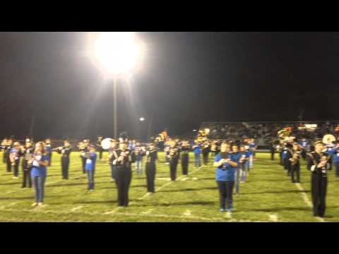 Oak Forest High School & Hille Middle School Bands - Fight Song