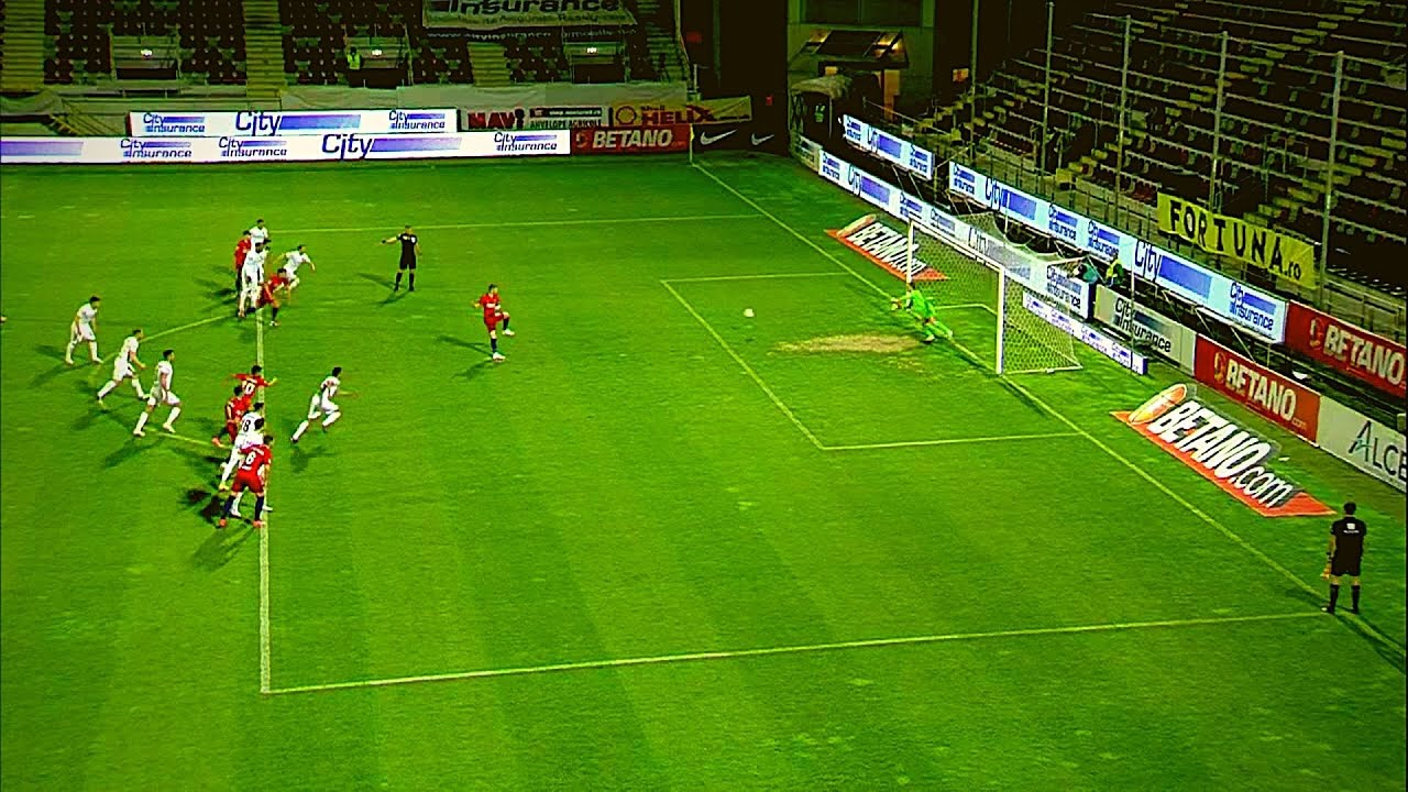 GOOOL FCSB | Florin Tănase a deschis scorul din penalty în derby-ul cu CFR Cluj
