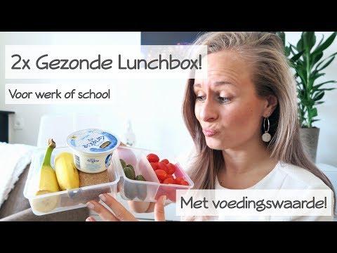 2x Gezonde Lunchbox