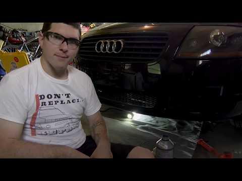 Transmission Fluid Change on Audi/VW 1.8 T Manual Transmission