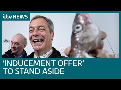 Farage: 'Inducements offered'