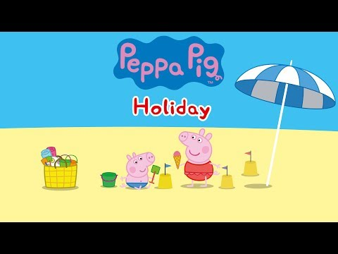 Peppa Pig - Peppa's Holiday gameplay (app demo)