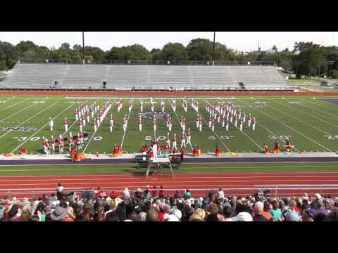 Bridge City High School Band 2015 - UIL Region 10 Marching Contest