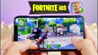 asi es fortnite el iphone xs max