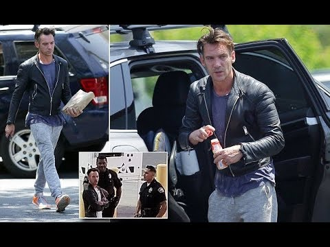 Jonathan Rhys Meyers steps out in LA after violent outburst on flight  247