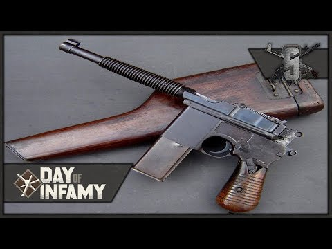Full Auto Mauser C96, CQB Master - Day of Infamy - German Machine Pistol Gameplay