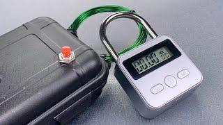 [1250] Pocket EMP Generator Opens Timer Padlock