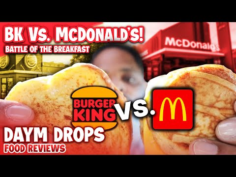 McDonald's McGriddle vs