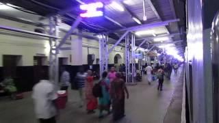16723 Chennai Egmore-Thiruvananthapuram Central Ananthapuri Express departing Madurai Jn!