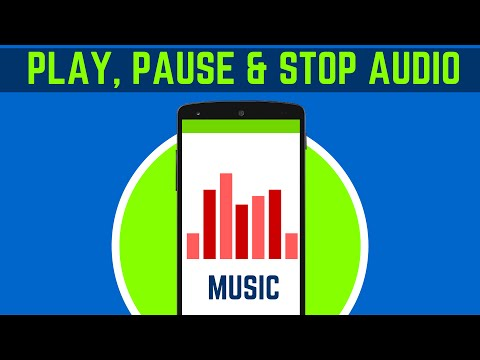 28  HOW TO PLAY AUDIO IN ANDROID WITH PAUSE & STOP FEATURE