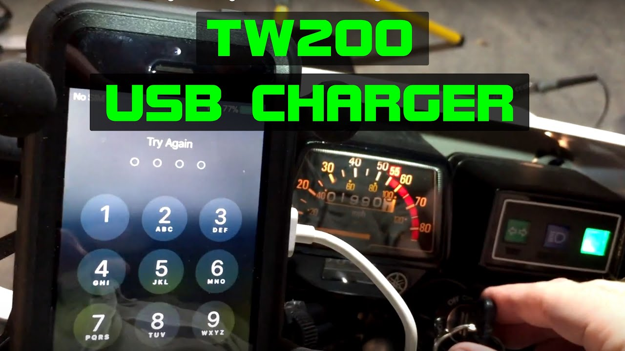 usb charger wiring switches off w ingintion yamaha tw200 [ 1280 x 720 Pixel ]