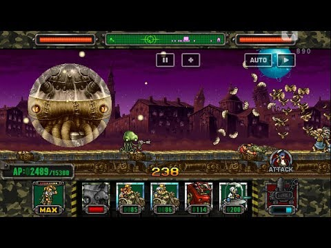 Metal slug ATTACK. UNIT!  NEW UNIT APPEAR  !!! (2.15.0 ver)