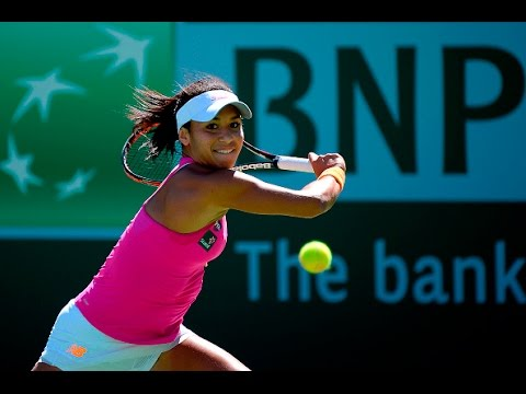 2016 BNP Paribas Open First Round | Heather Watson vs Galina Voskoboeva | WTA Highlights