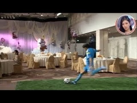 japanese-soccer-player-hits-wedding-cake-topper-from-a-free-kick