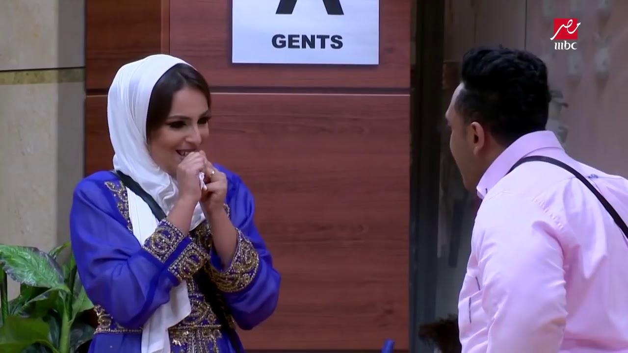 اوس اوس يضع إسراء عبد الفتاح في حرج بسبب زوجها