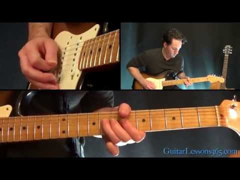 Johnny B. Goode Guitar Lesson - Chuck Berry - Solo