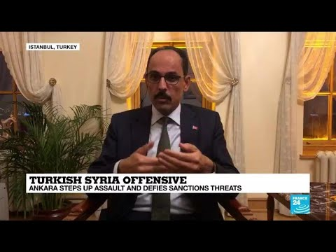 'Our goal is to clear Syria border of terrorists,' senior Erdogan adviser tells FRANCE 24
