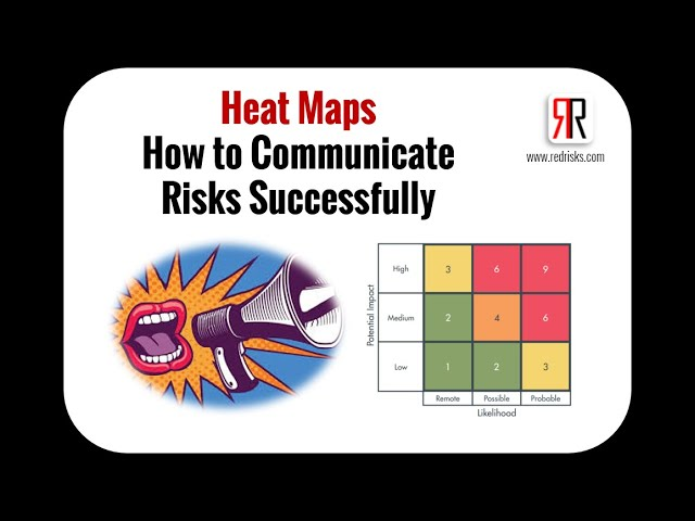 How to Communicate Risks Successfully Using Heat Maps