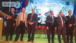 بالفيديو : جامعة العريش تحتفل لأول مرة بتخريج دفعة تعليم مفتوح تربوى