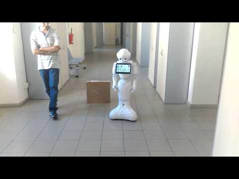 SoftBank Pepper - SPQReL navigation