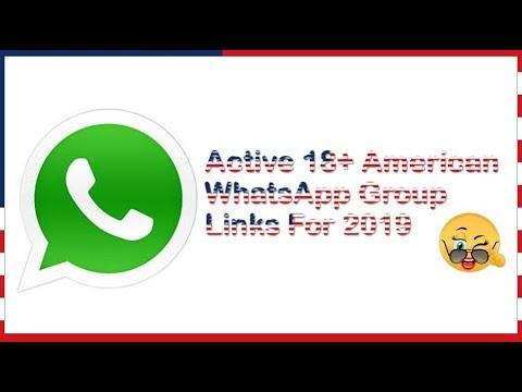 Whatsapp Group Links 18+ America For 2019 | Full Active 18+ America  Whatsapp Group Links 2019 |