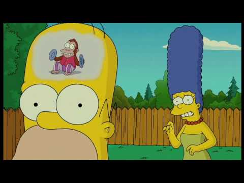 Mose Mai Monkey The Simpsons Movie Homer S Train Of