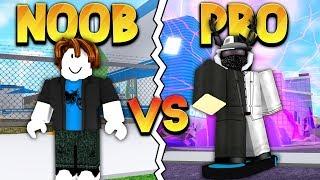 NOOB vs PRO (ROBLOX MAD CITY)