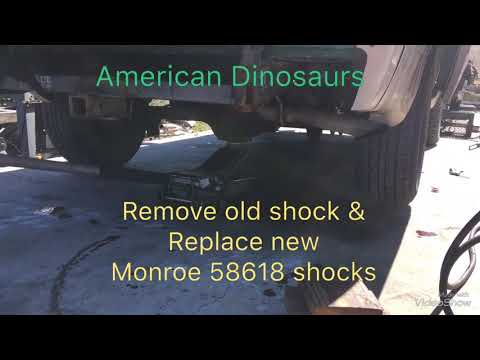 1999 Chevy Astro Replace Monroe 58618 Shock Absorbers