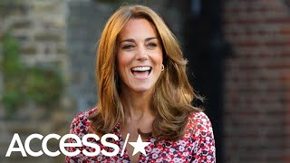 Kate Middleton Debuts New Brighter Hairstyle For Princess Charlotte's First Day Of School