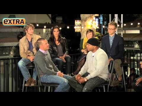 NCIS: Los Angeles cast at the Grove p2 on ExtraTV