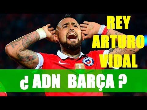 Arturo Vidal a debate: ¿ADN Barça?