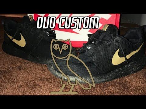"""custom-roshe-run-""""ovo""""-tutorial"""