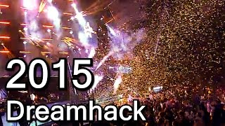 Why was Dreamhack 2015 smaller than Cologne?