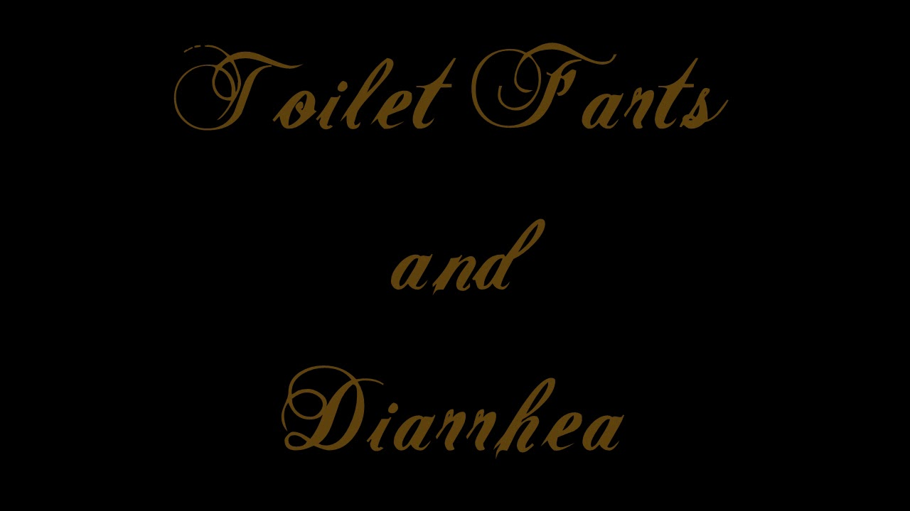 fart toilet Girl diarrhea