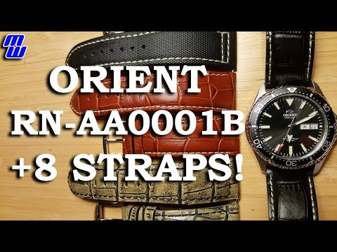Orient RN-AA0001B On 8 Different Straps!